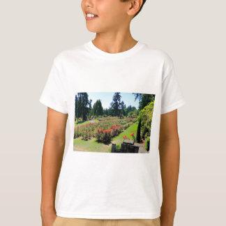 Photograph of Rose Garden, Portland, Oregon T-Shirt