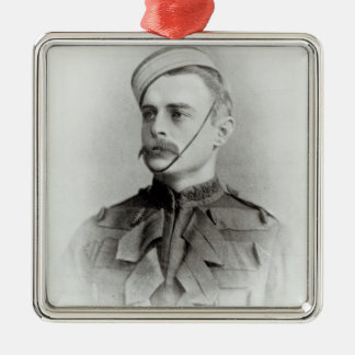Photograph of Sir Francis Younghusband Square Metal Christmas Ornament
