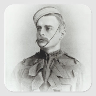 Photograph of Sir Francis Younghusband Square Sticker