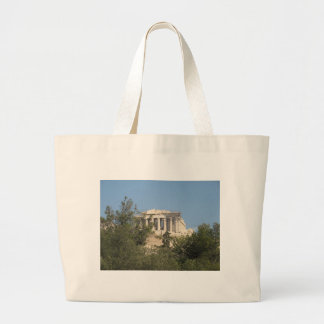 Photograph of the Ancient Greek Parthenon Ruins Bags