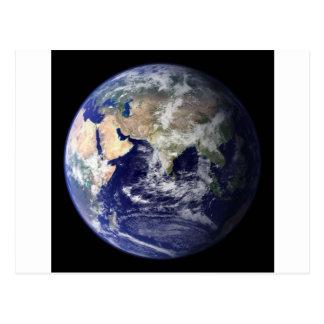 Photograph of the Earth - Hemisphere Is Postcard