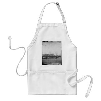 Photograph of the Federal Navy. Civil War. c. 1861 Adult Apron