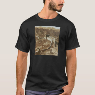 Photograph of The Great Wall of China from 1907 T-Shirt