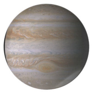 Photograph of the Jupiter planet
