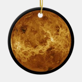 Photograph of the Venus planet Ceramic Ornament