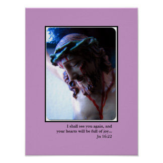 Photograph Sacred Face of Jesus Poster
