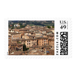 Photograph taken in Siena, Italy. One can see Postage Stamp