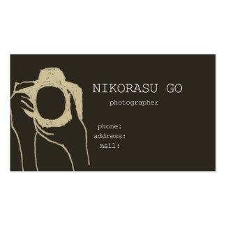 photographer ビジネスカードテンプレート