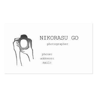 photographer ビジネスカード