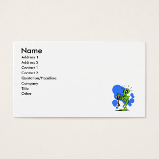 Photographer Alien Business Card