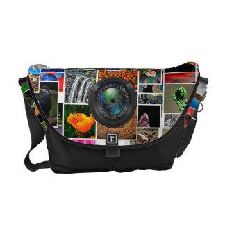 Photographer And Photography Business Camera Lens Messenger Bag