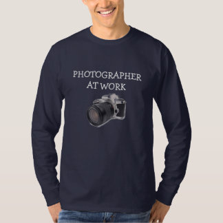 PHOTOGRAPHER AT WORK - Basic Long Sleeve Shirt