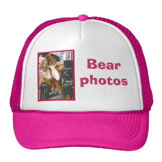 Photographer Bear Trucker Hat