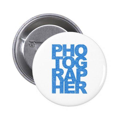 Photographer - Blue Text Pins