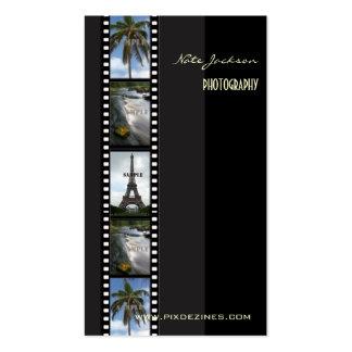 Photographer business cards photos template