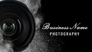 Photography business cards zazzle photographer camera black white photography business card flashek Choice Image