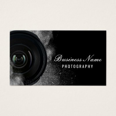 Camera business cards photography zazzle reheart Images