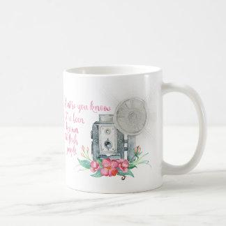 Photographer Camera Flash Coffee Mug
