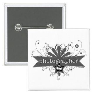 Photographer Carnival-Style Buttons
