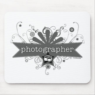 Photographer Carnival-Style Mouse Pad