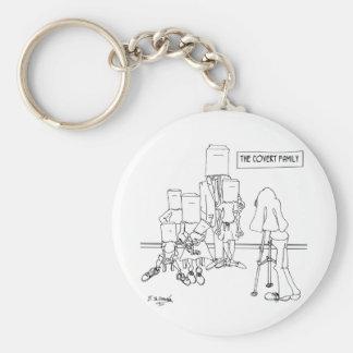 Photographer Cartoon 1339 Keychain