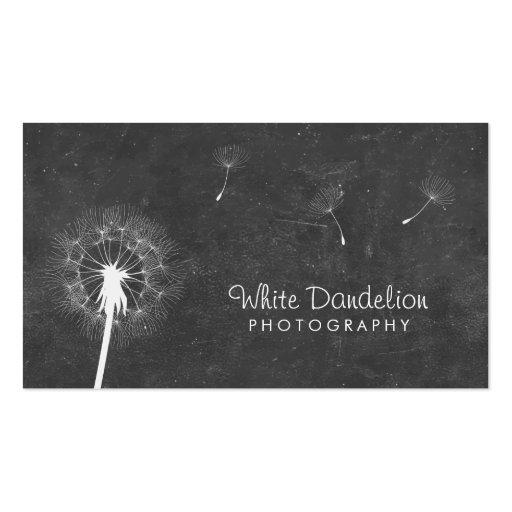photographer chalkboard dandelion photography business