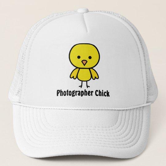 Photographer Chick Trucker Hat