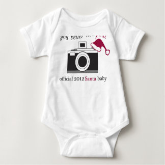 Photographer Cient Holiday Gift - Baby Baby Bodysuit