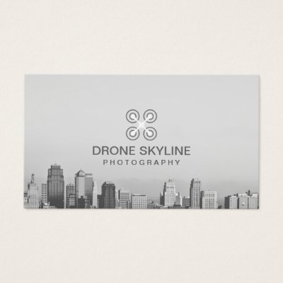Aerial drone photography business card zazzle reheart Choice Image