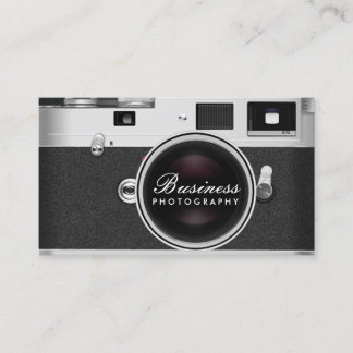 Photographer Classic Camera Photography Business Card