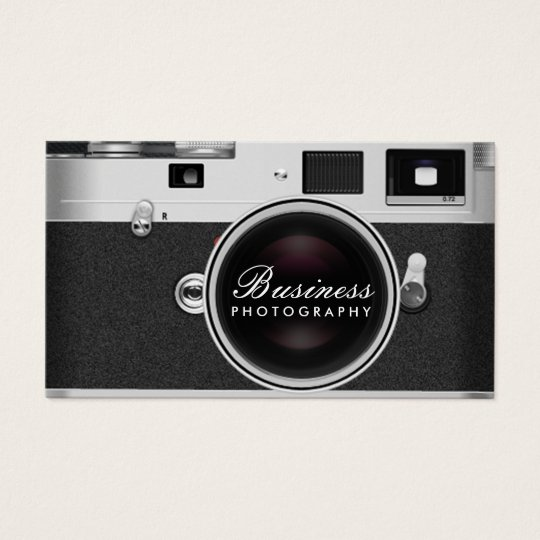 camera business cards