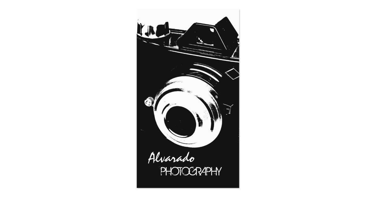 grapher Creative Retro Black White Camera Business