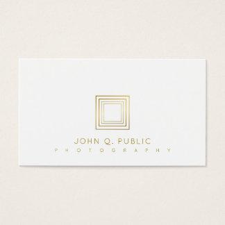 Photographer Elegant Gold Look Photography Stylish Business Card