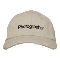 Photographer Embroidered Baseball Hat