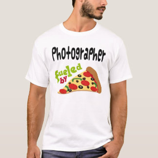 Photographer (Funny) Pizza T Shirt