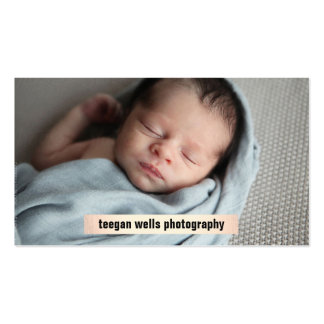 Photographer Gold Plaque Photography Card
