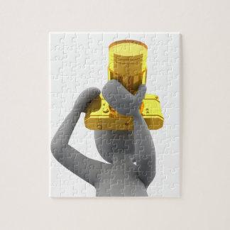 photographer golden camera jigsaw puzzle