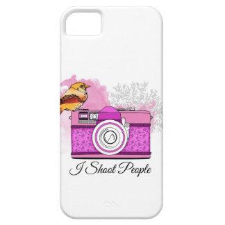 Photographer / I shoot people Funda Para iPhone SE/5/5s