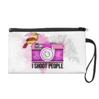 Photographer/I shoot people Wristlet Purse