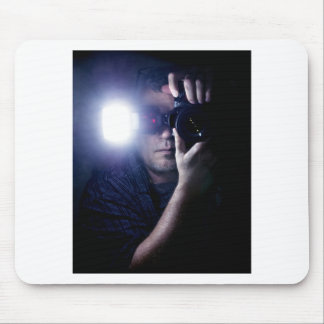 Photographer in the Dark.jpg Mouse Pad