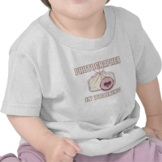 Photographer in Training T-Shirt Pink