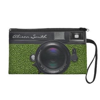 Photographer light green Camera