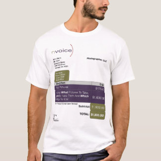 Photographer LightColor T-Shirt