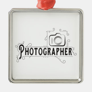 Photographer Metal Ornament