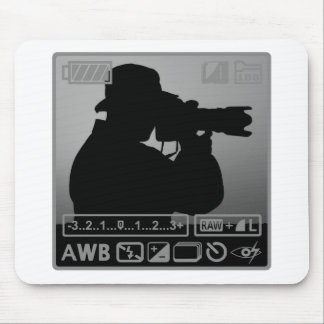 Photographer Mouse Pads