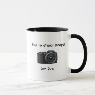 Photographer Mug Shoot for fun. Flash if necessary