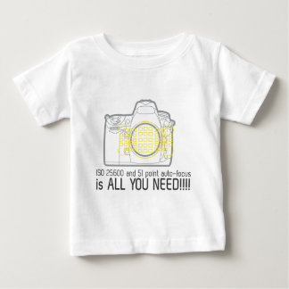 Photographer Nikon D700 is all you need Baby T-Shirt