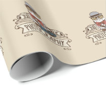 Photographer Owl with Camera Wrapping Paper