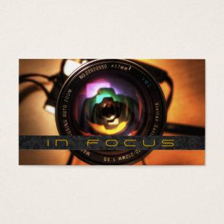 Photographer, Photography Business Card