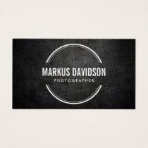 Photographer Photography Camera Lens Business Card